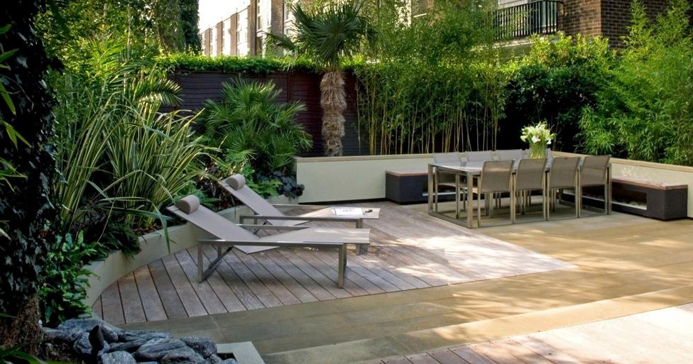 contemporary garden seating ideas photo - 4