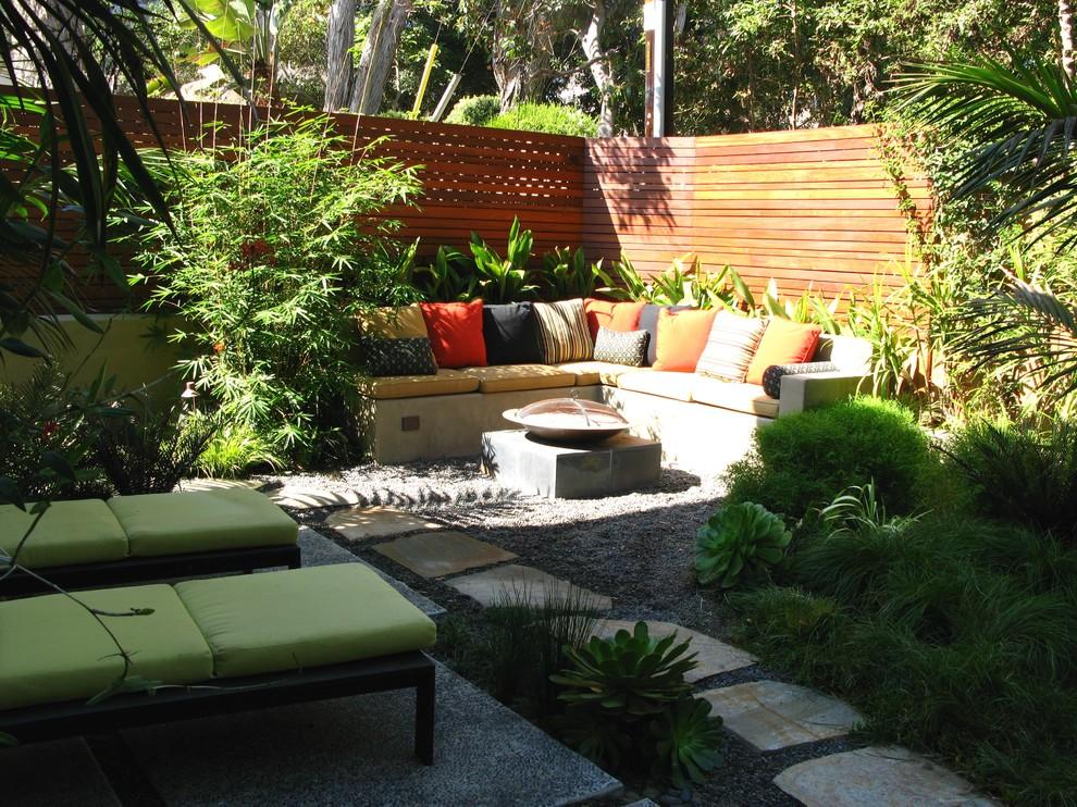 contemporary garden seating ideas photo - 6
