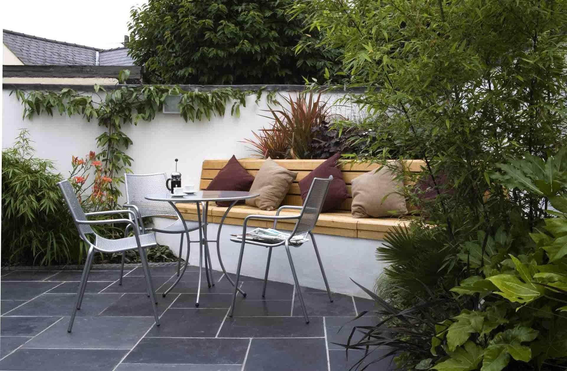 contemporary garden seating ideas photo - 7