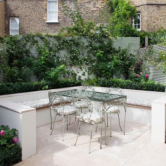 contemporary garden seating ideas photo - 8