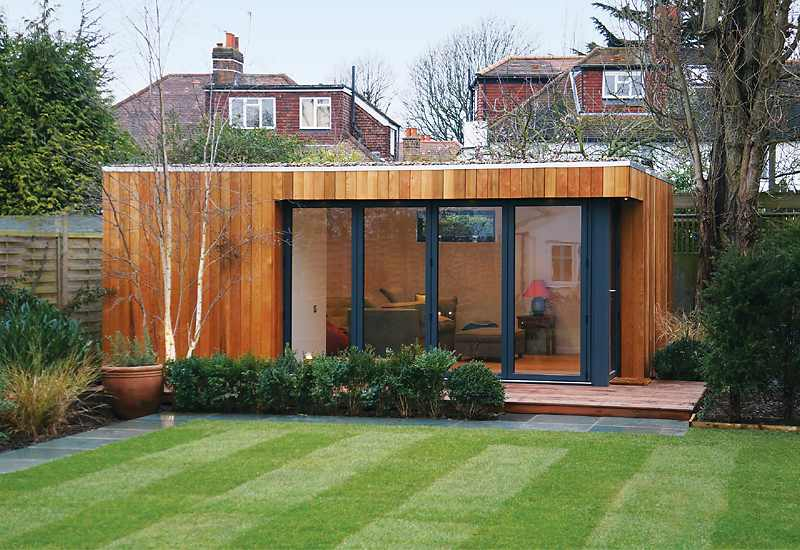 contemporary garden shed plans photo - 1