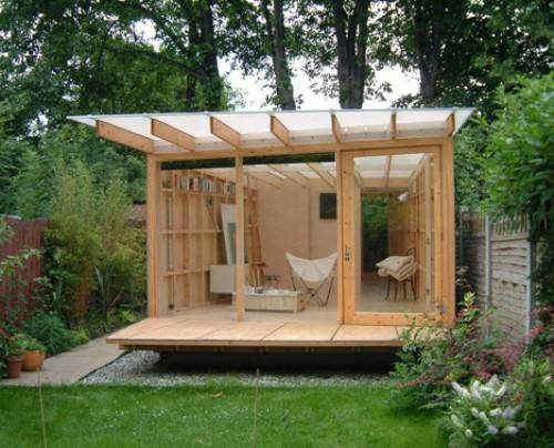 contemporary garden shed plans photo - 2