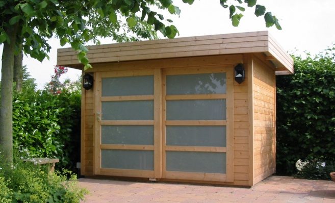 contemporary garden shed plans photo - 4
