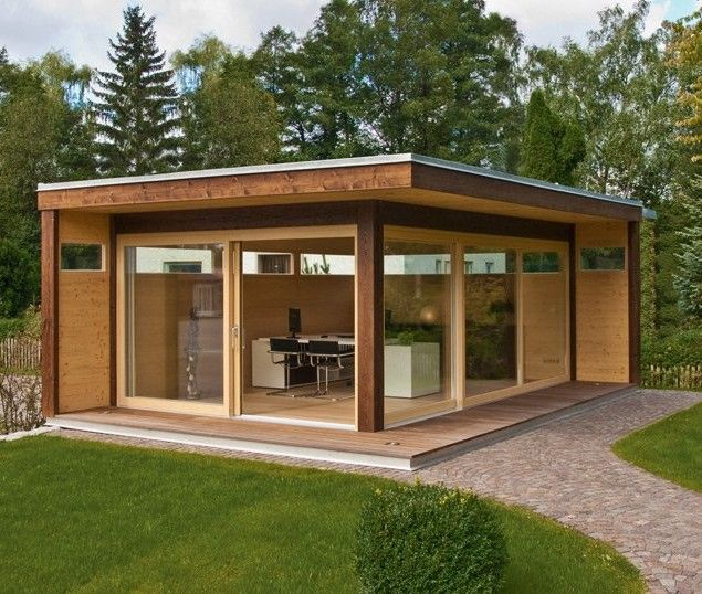 contemporary garden shed plans photo - 6