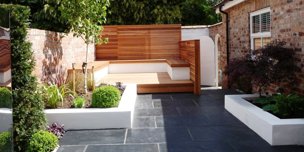 contemporary garden wall ideas photo - 2