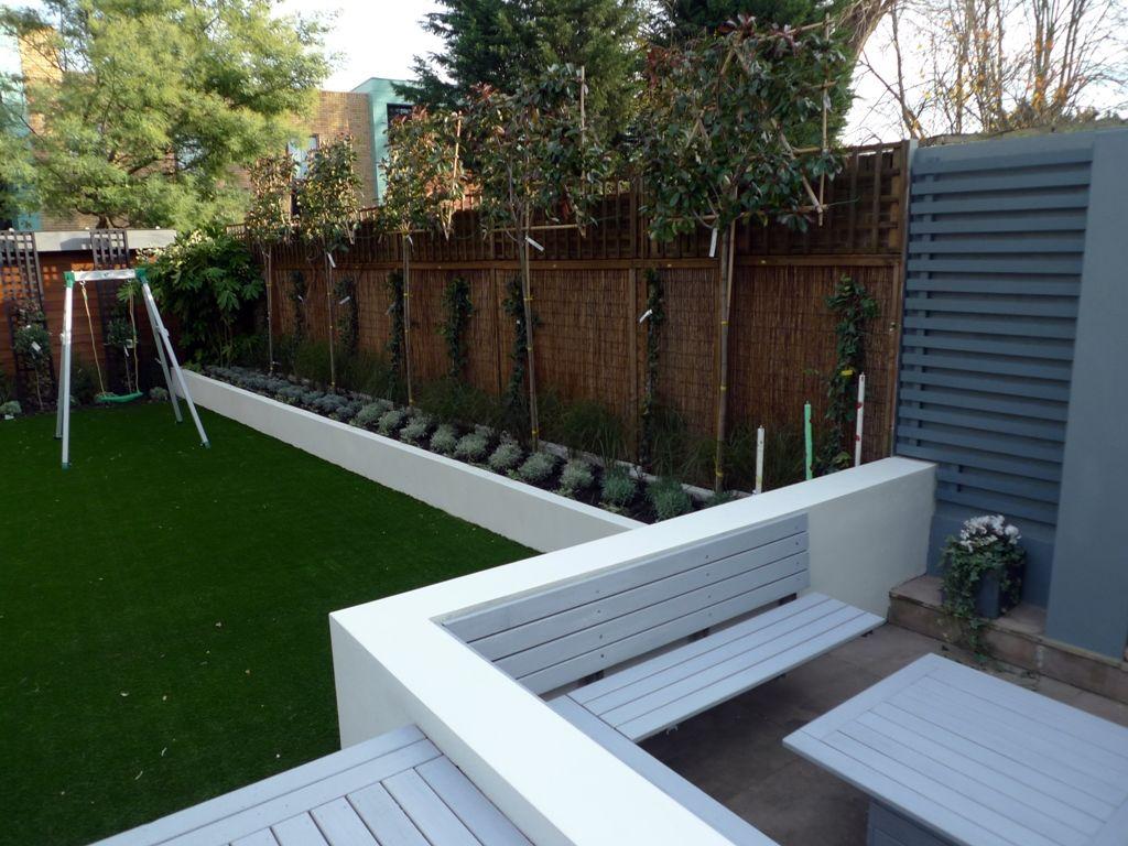 contemporary garden wall ideas photo - 6