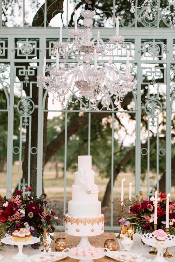 contemporary garden wedding ideas photo - 1