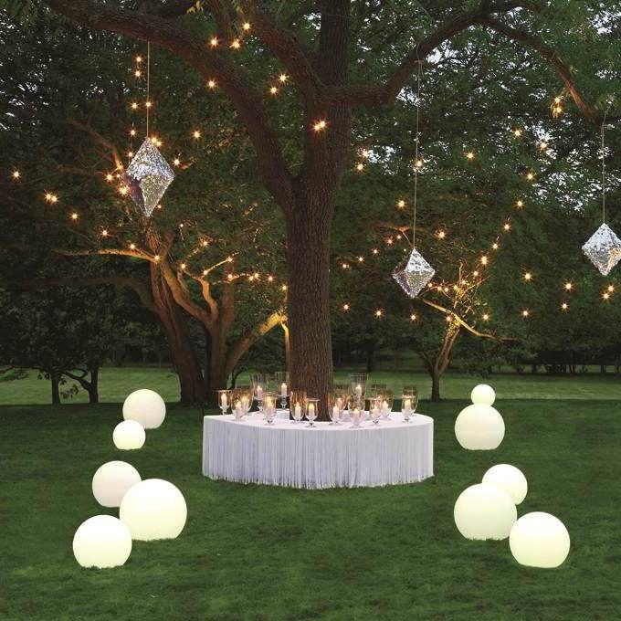 contemporary garden wedding ideas photo - 4