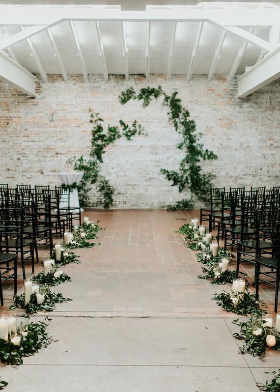 contemporary garden wedding ideas photo - 6