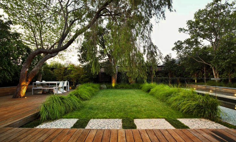 contemporary gardens design ideas photo - 1
