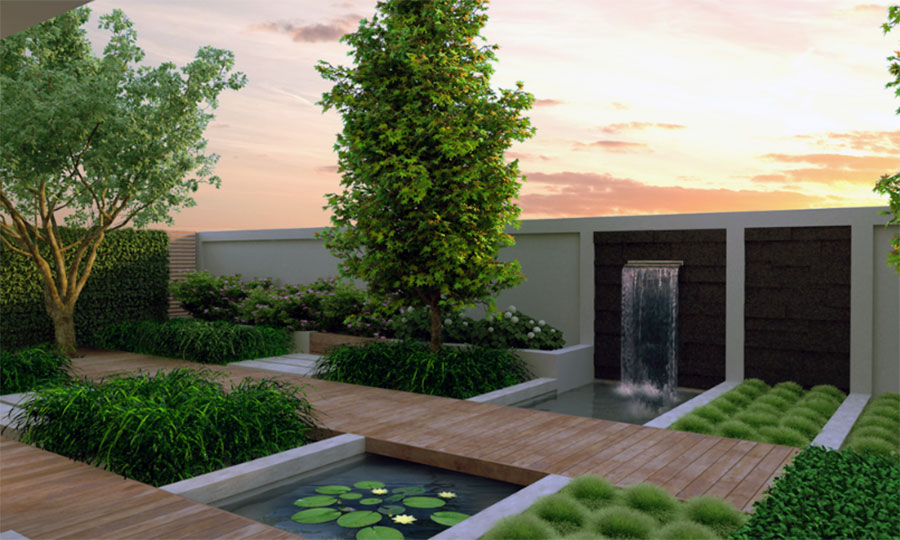 contemporary gardens design ideas photo - 10