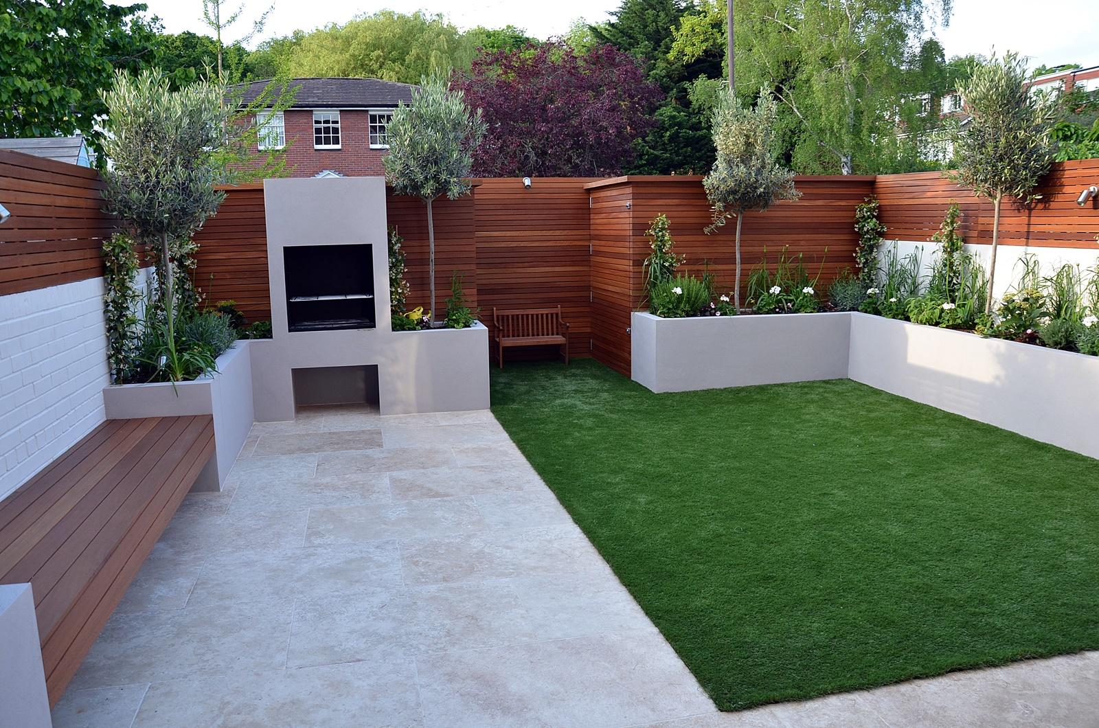 contemporary gardens design ideas photo - 2