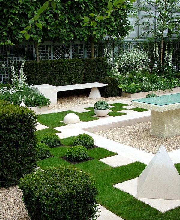 contemporary gardens design ideas photo - 4
