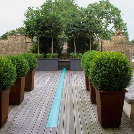 contemporary gardens design ideas photo - 9