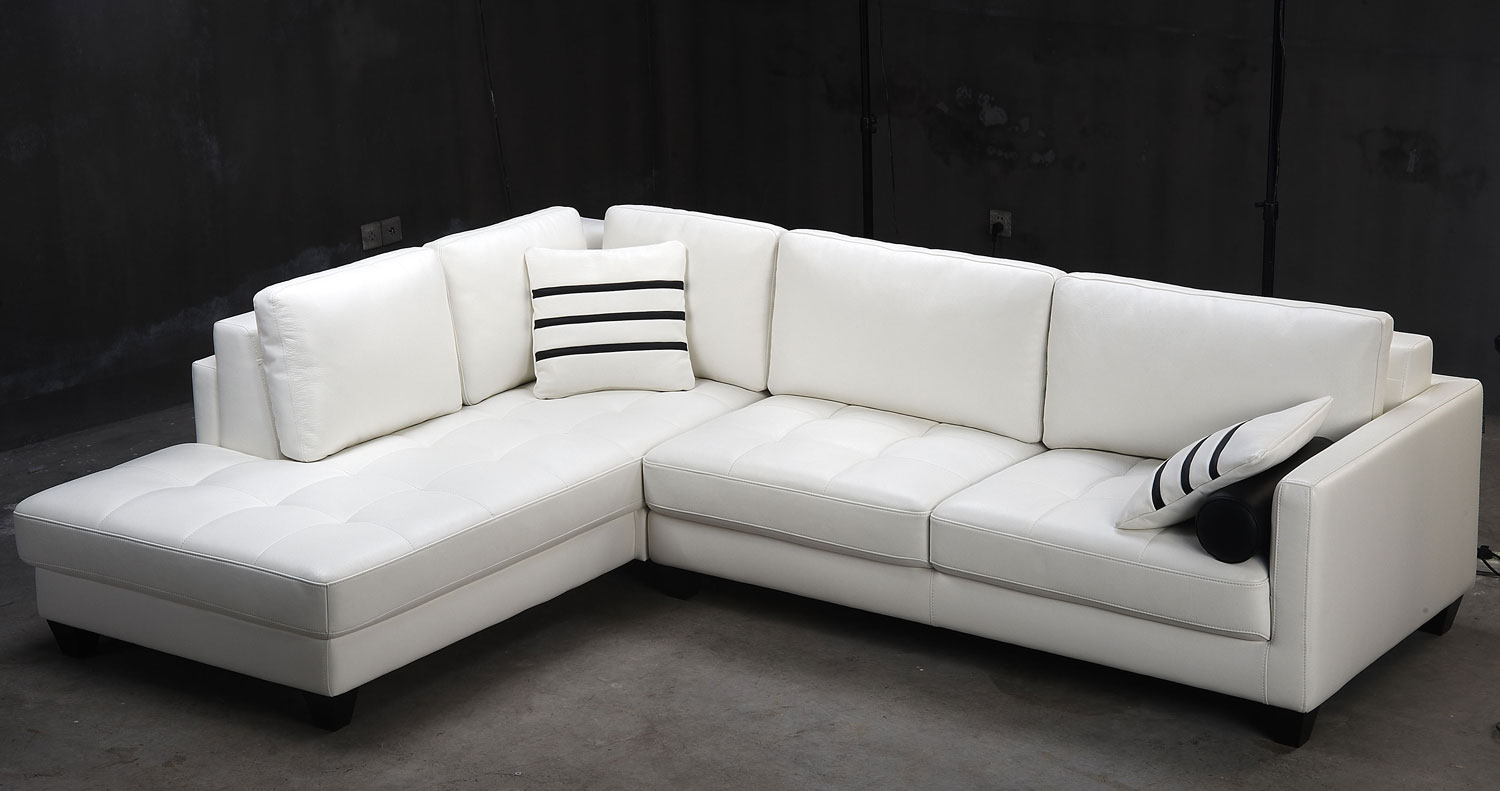 contemporary sectional sofas leather photo - 1