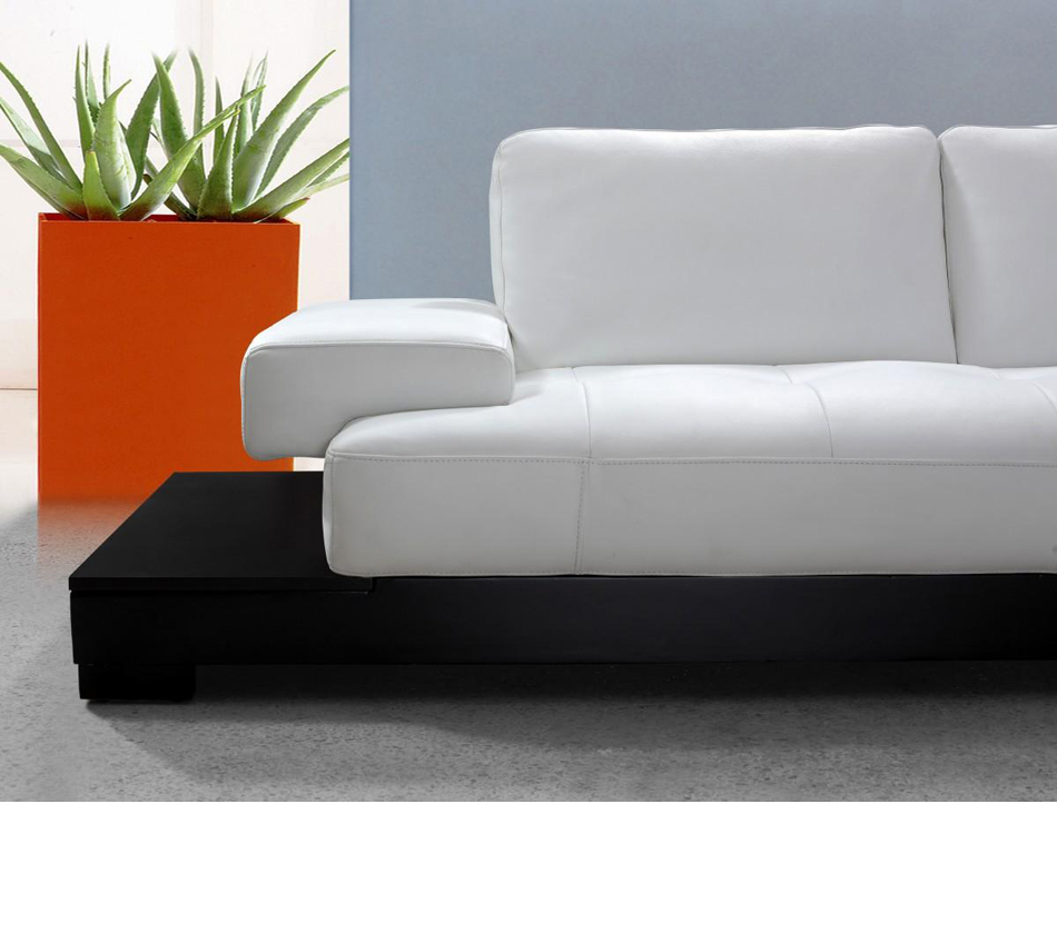 contemporary sectional sofas leather photo - 10