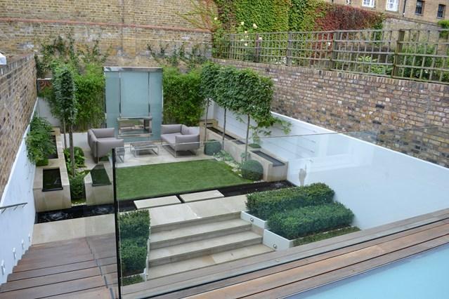 Contemporary small gardens ideas | Hawk Haven