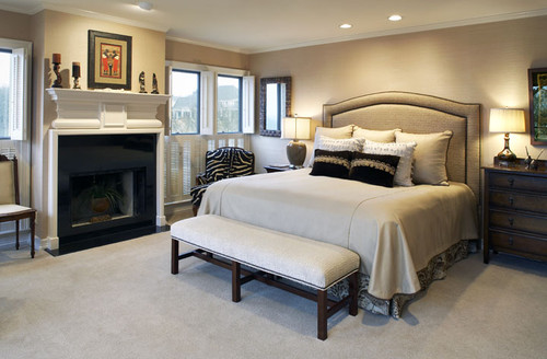 contemporary traditional bedroom ideas photo - 7