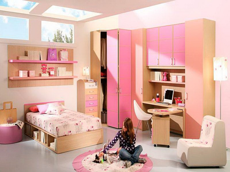 cool bedroom furniture for girls photo - 7
