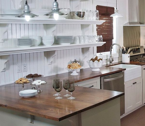country cottage kitchen designs photo - 2