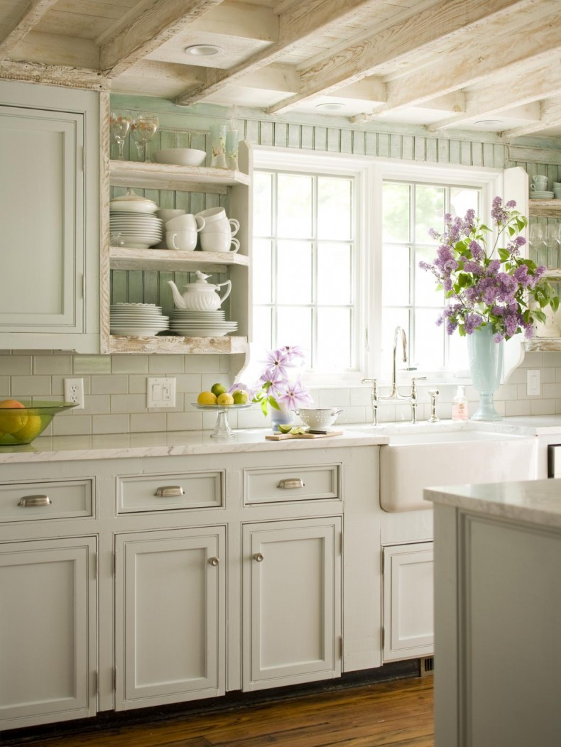 country cottage kitchen designs photo - 9