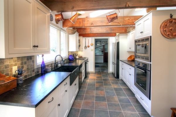 Country Galley Kitchen Designs Hawk Haven