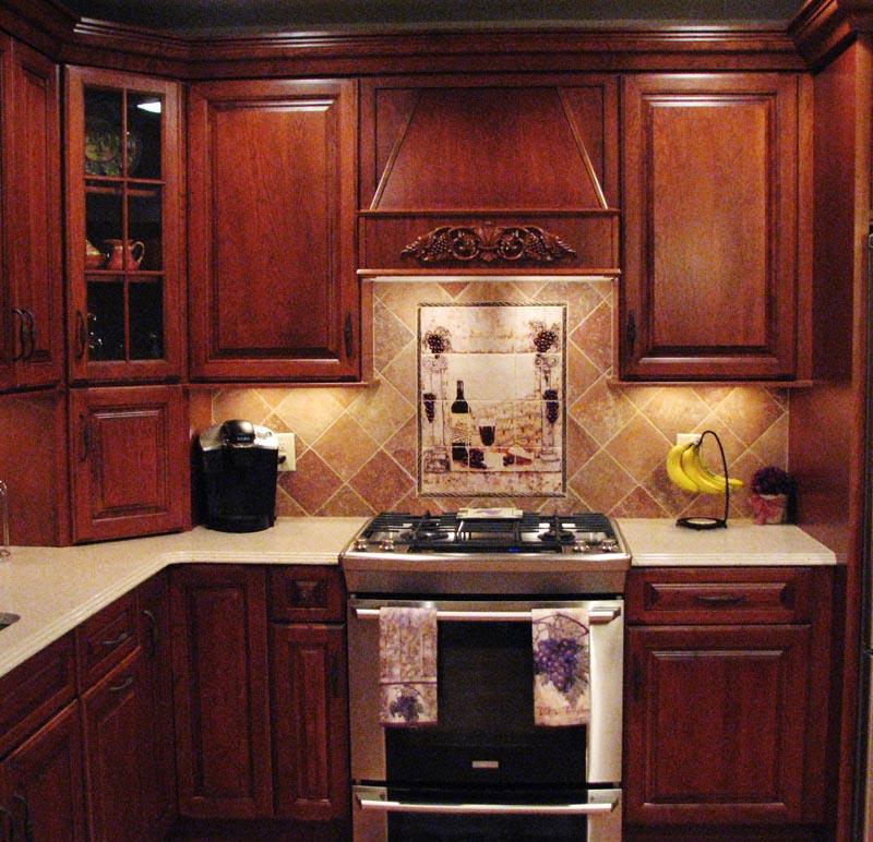 Country Kitchen Backsplash Designs Photo   2