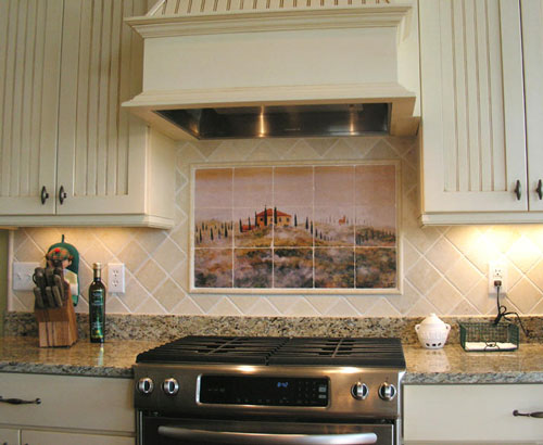 country kitchen backsplash designs photo - 5