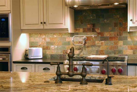 country kitchen backsplash designs photo - 8