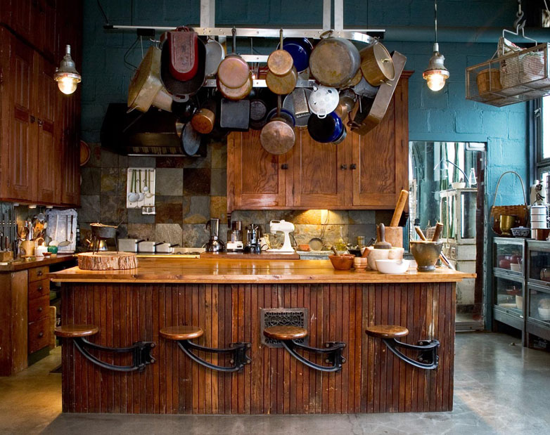 country kitchen bar designs photo - 3