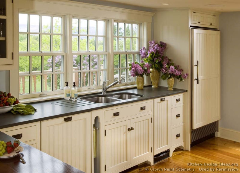 country kitchen cabinet designs photo - 1