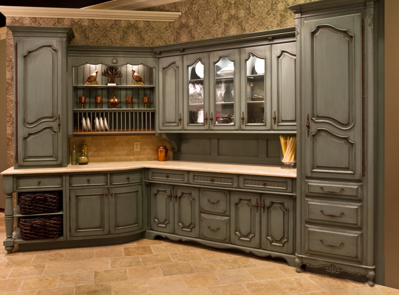 country kitchen cabinet designs photo - 10