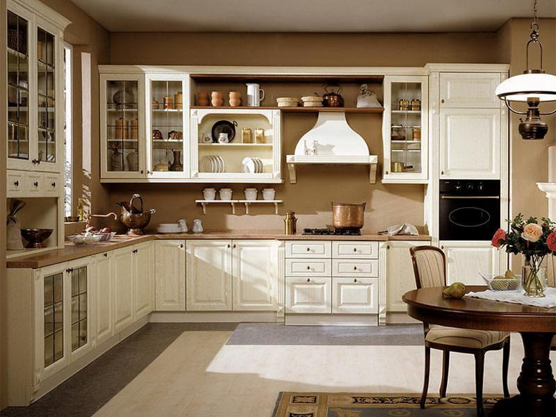country kitchen cabinet designs photo - 3