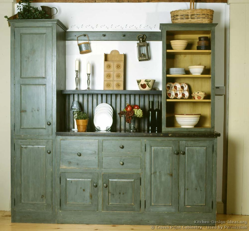 country kitchen cabinet designs photo - 8