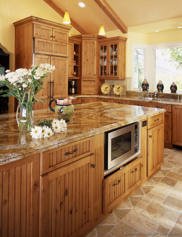 country kitchen cabinets pictures photo - 2