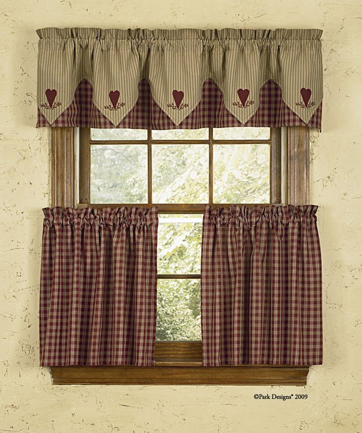 country kitchen curtain designs photo - 2