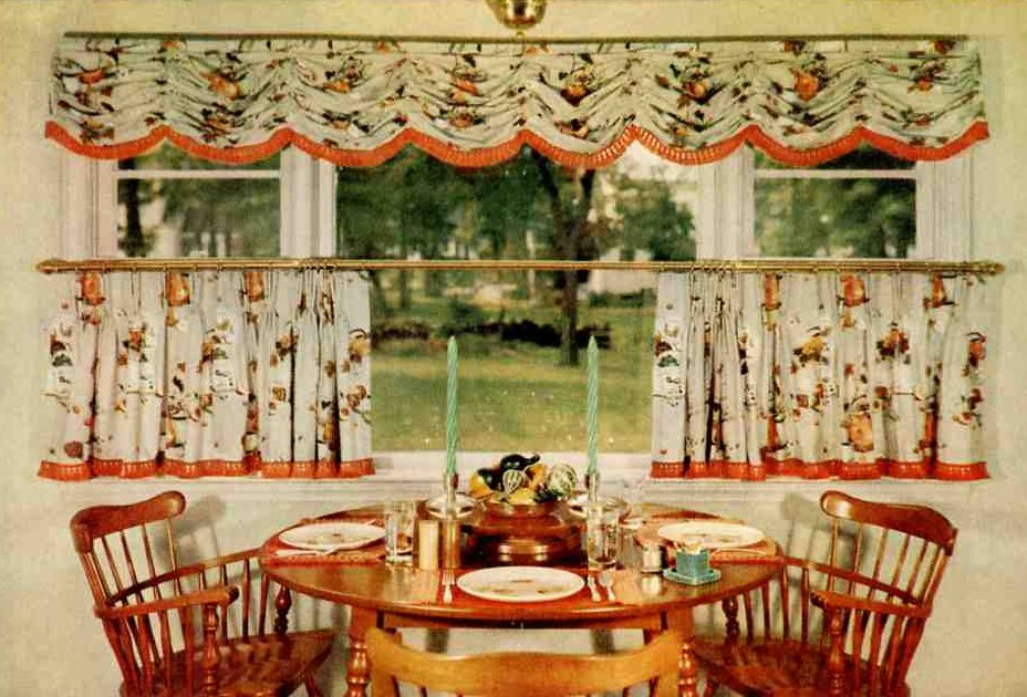 country kitchen curtain designs photo - 3