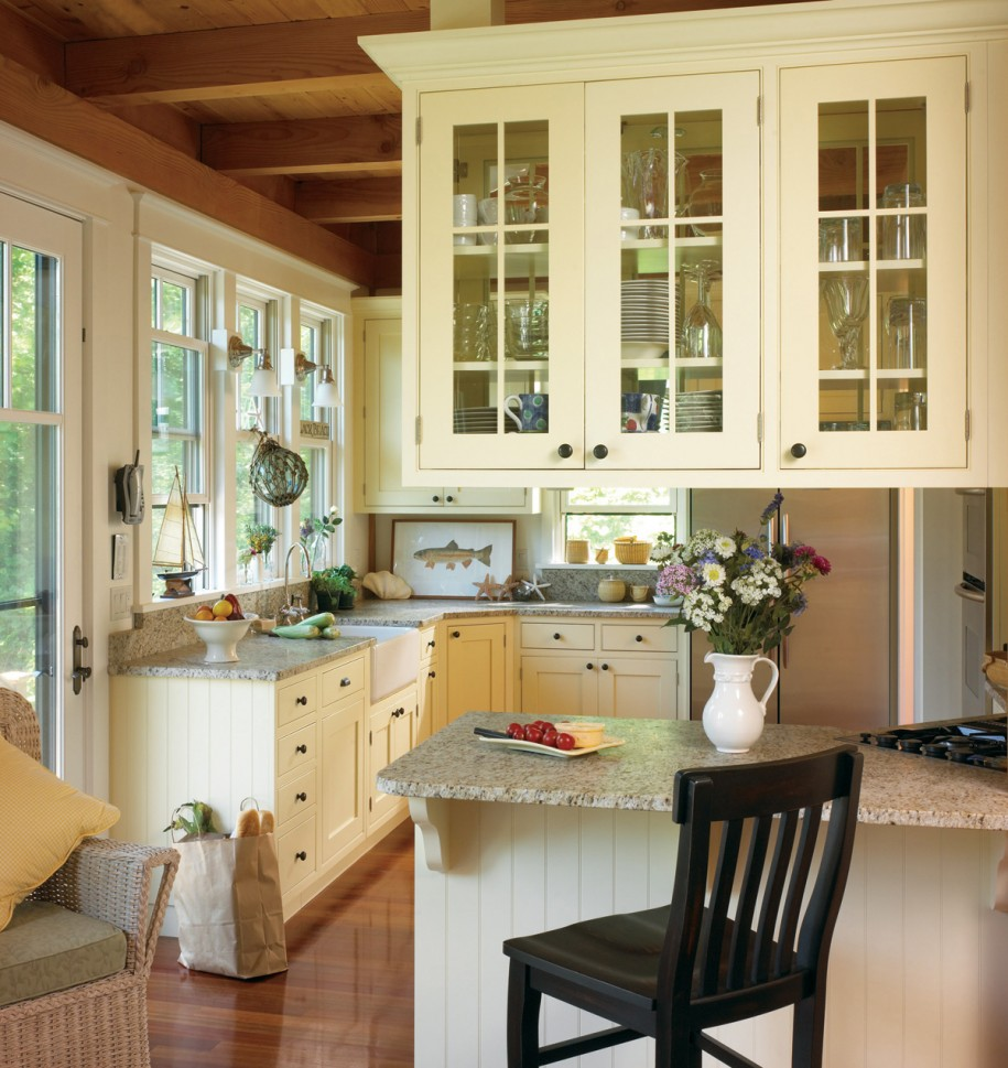 country kitchen designs layouts photo - 10