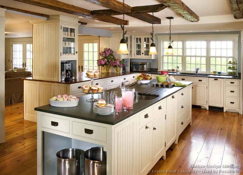 country kitchen designs layouts photo - 3