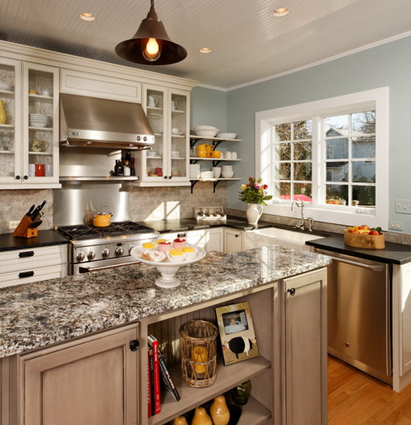 country kitchen designs layouts photo - 5