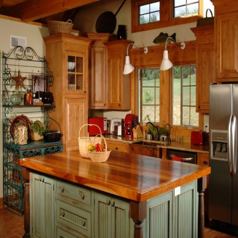 country kitchen designs layouts photo - 7