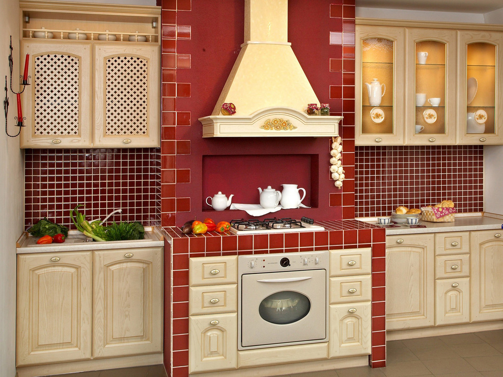 country kitchen designs layouts photo - 8