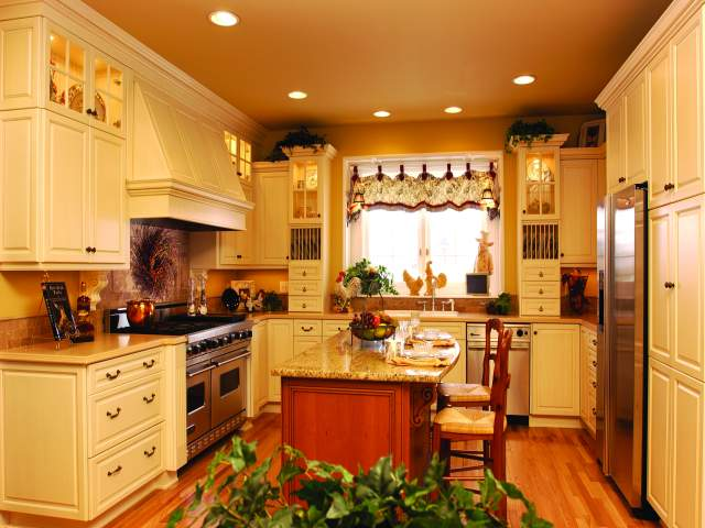 country kitchen designs photo gallery photo - 3