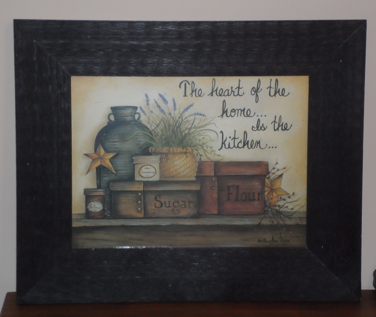 country kitchen framed pictures photo - 2