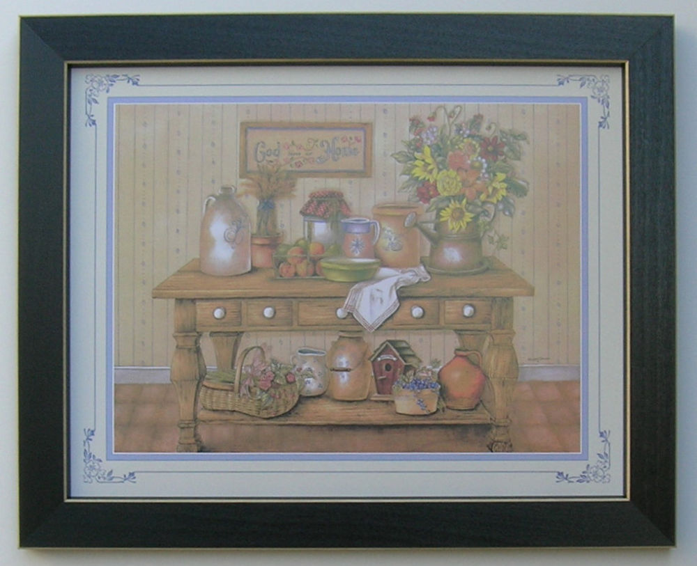 country kitchen framed pictures photo - 3