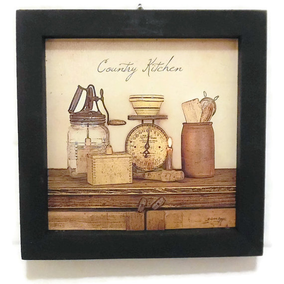 country kitchen framed pictures photo - 5