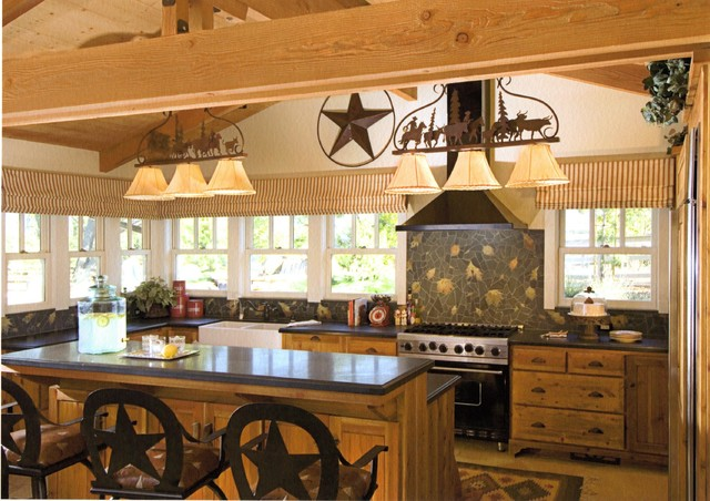 country western kitchen designs photo - 4