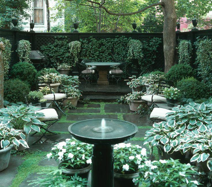Courtyard garden design ideas | Hawk Haven