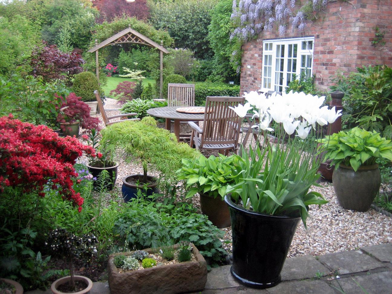 courtyard garden design ideas photo - 7