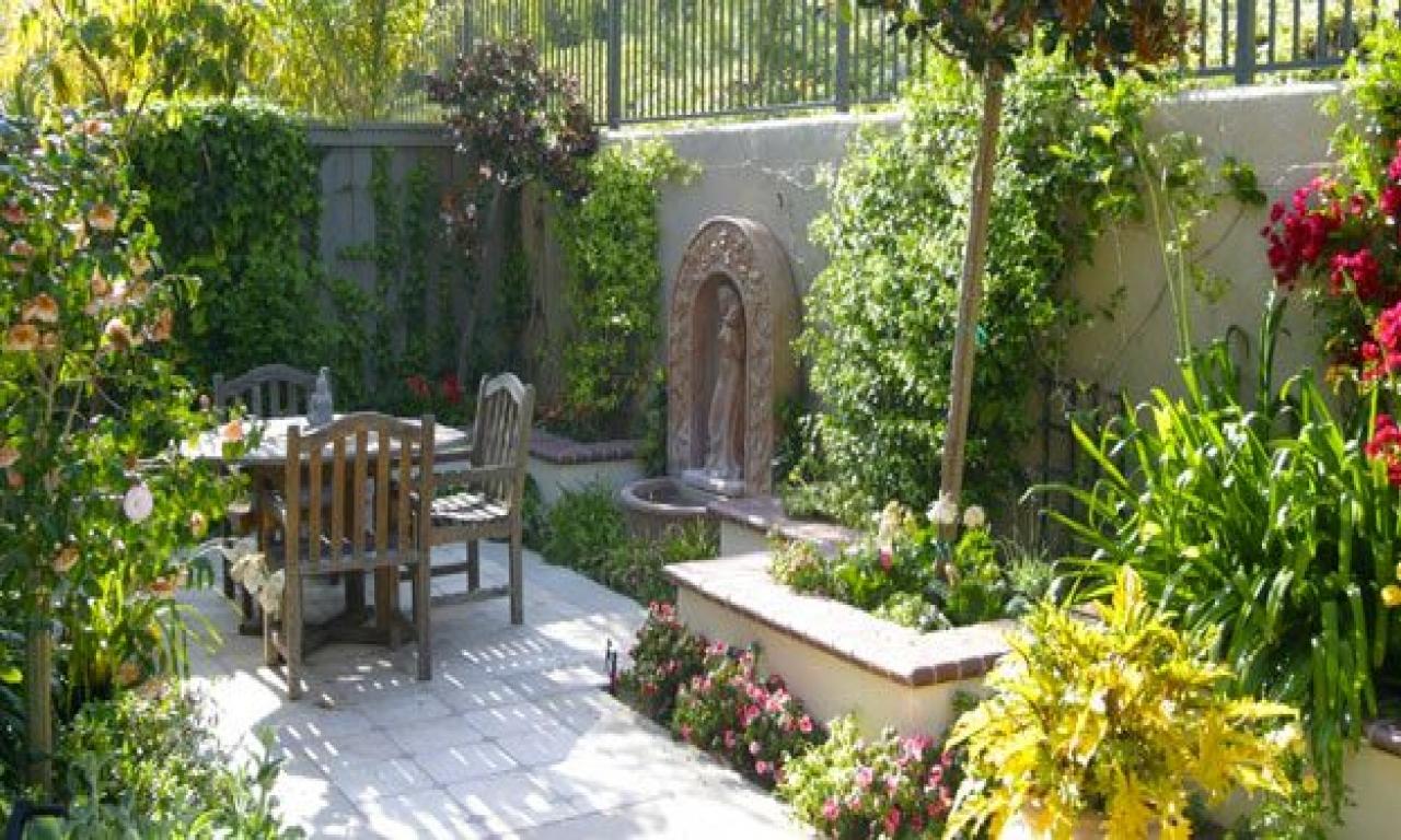 courtyard garden design ideas photo - 8